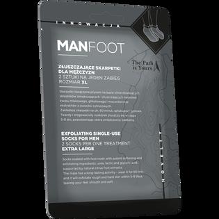 Manfoot_skarpetki złuszczające XL, 1 para
