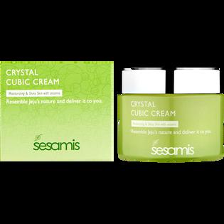 Sesamis_Crystal Cubic Cream_krem o działaniu nawilżająco rewitalizującym, 50 ml