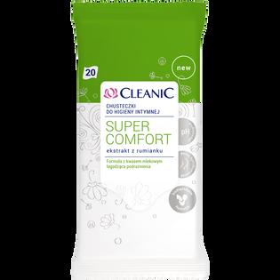 Cleanic_Super Comfort_chusteczki do higieny intymnej, 20 szt./1 opak.