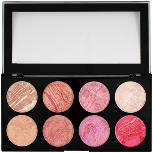 Revolution Makeup_Ultra Blush Palette_paleta róży do policzków blush queen, 13 g_2