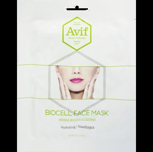 Avif_biocelulozowa maska nawilżająca do twarzy, 23 g