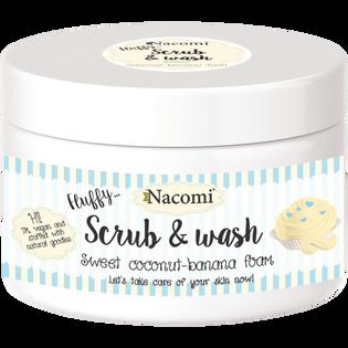 Nacomi_peelingująco-myjąca pianka do ciała o zapachu kokosu z bananem, 130 g
