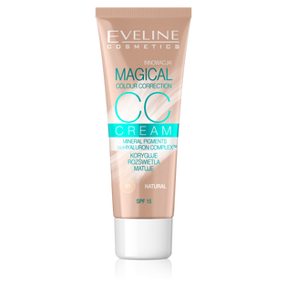 Eveline_Magical CC Cream_krem CC light beż 51, 30 ml