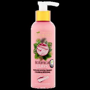 Bielenda_Botanical Clays_pasta do mycia twarzy z glinką różową, 190 ml