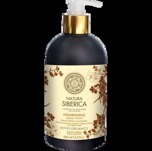 Natura Siberica_Odżywcze_nawilżające mydło krem do mycia ciała, 500 ml