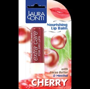 Laura Conti_Menthol, Cherry_balsam ochronny do ust mentol&wiśnia, 4,8 g