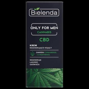 Bielenda_Cannabis_regenerująco-kojący krem do twarzy męski, 50 ml