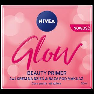 Nivea_Glow Beauty_krem do twarzy na dzień i baza pod makijaż do cery suchej i wrażliwej, 50 ml