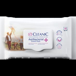 Cleanic_Antibacterial Travel_chusteczki odświeżające, 40 szt./1 opak.