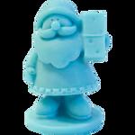 LaQ Mały Św. Mikołaj - niebieski