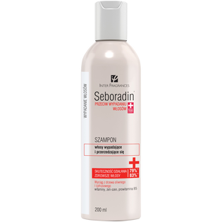 Seboradin_szampon do włosów przeciw wypadaniu, 200 ml