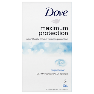 Dove_Maximum Protection Original Clean_antyperspirant damski w sztyfcie, 45 ml