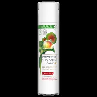 Dove Powered By Plants_Geranium_dezodorant damski w sprayu, 75 ml