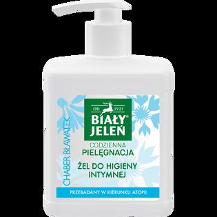 Biały Jeleń_Hipoalergiczny_żel do higieny intymnej z chabrem i bławatkiem, 500 ml