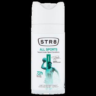 STR8_All Sports_dezodorant męski w sprayu, 150 ml