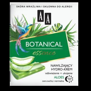 AA_Botanical Essence_nawilżający hydro-krem do cery suchej i normalnej, 50 ml