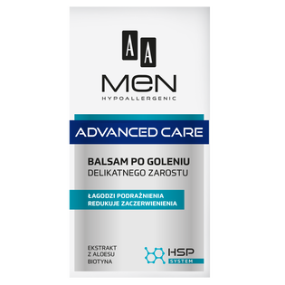 AA_Men Advanced Care_balsam po goleniu do delikatnego zarostu, 100 ml