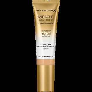 Max Factor_Miracle Second Skin_nawilżający podkład do twarzy SPF20 light medium 04, 30 ml_1