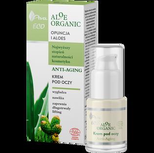 Ava_Aloe Organic_krem pod oczy anti-ageing, 30 ml_2