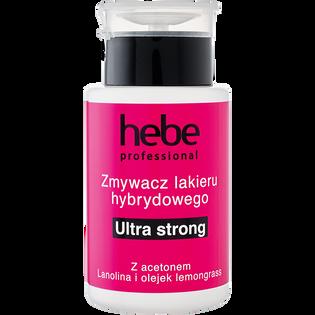 Hebe Professional_Ultra Strong_zmywacz lakieru hybrydowego z pompką, 150 ml