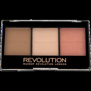 Revolution Makeup_Ultra Sculp & Contour_paleta do konturowania twarzy kit fair C01, 11 g_1