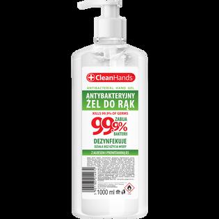 Cleanhands_Aloes_antybakteryjny żel do rąk, 1000 ml