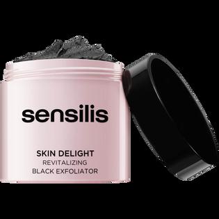 Sensilis_Skin Delight_rewitalizujący czarny peeling do twarzy, 75 ml
