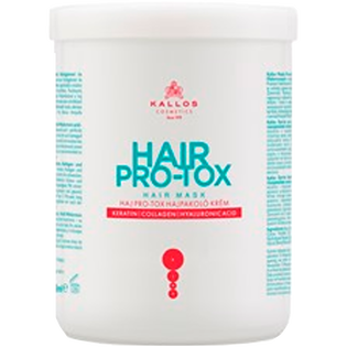 Kallos_Hair Pro-Tox_maska do włosów, 1000 ml