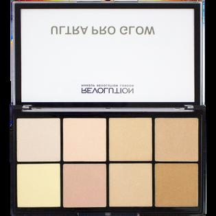 Revolution Makeup_Ultra Pro Glow_paleta rozświetlaczy do twarzy, 20 g_2