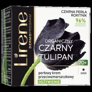 Lirene_Organiczny Czarny Tulipan_perłowy krem przeciwzmarszczkowy do twarzy na dzień 70+, 50 ml_2