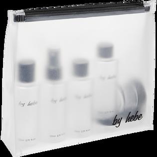 By Hebe_zestaw: butelka 80 ml, 4 szt. + słoik 10 ml, 2 szt. + słoik 30 ml, 1 szt. + szpatułka, 1 szt._6