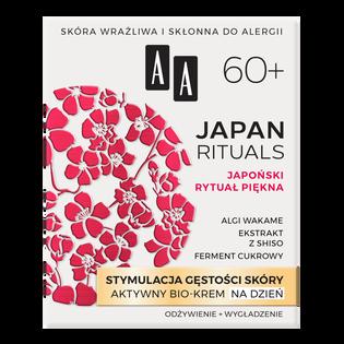 AA_Japan Rituals_odżywczo-wygładzający bio-krem do twarzy na dzień 60+, 50 ml