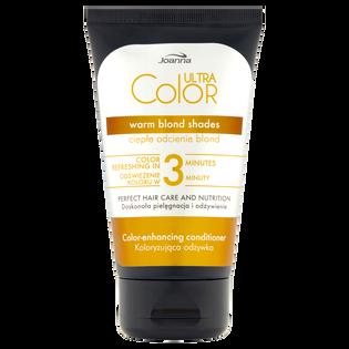 Joanna_Ultra Color_odżywka do włosów nadająca ciepły, beżowy odcień, 100 g