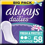 Always Dailies Fresh & Protect Normal Fresh