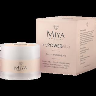 Miya Cosmetics_My Power Elixir_serum rewitalizujące do twarzy, 15 ml