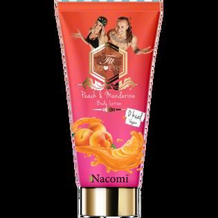 Fit Lovers By Nacomi_Brzoskwinia i mandarynka_antycellulitowy balsam do ciała, 200 ml