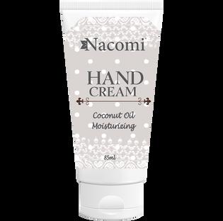Nacomi_Coconut Oil Moisturizing_intensywnie nawilżający krem do rąk, 85 ML