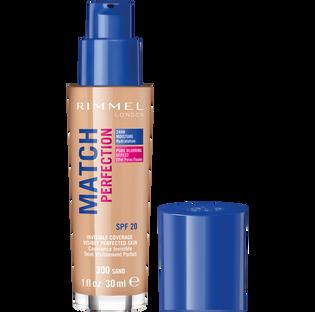 Rimmel_Match Perfection_podkład do twarzy sand 300 SPF20, 30 ml_2