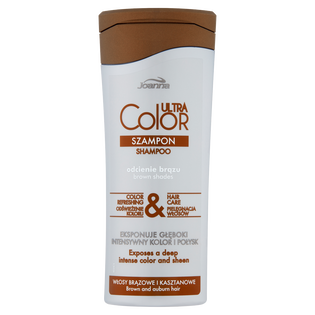 Joanna_Ultra Color System_szampon do włosów w odcieniach brązu, 200 ml