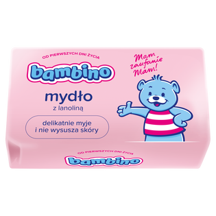 Bambino_mydło z lanoliną dla dzieci, 90 g