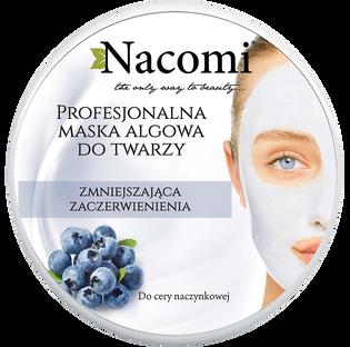 Nacomi_Professional_zmniejszająca zaczerwienienia maska algowa do twarzy, 40 g