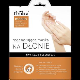 L'Biotica_Regenerująca_maseczka na dłonie w postaci rękawiczek, 26 ml/1 para