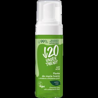 Under Twenty_Vegan_pianka do mycia twarzy, 150 ml