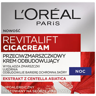 L'Oréal Paris_Revitalift Cicacream_krem do twarzy na noc, 50 ml