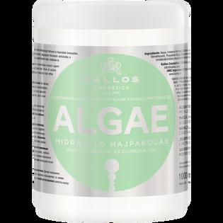 Kallos_Algae_nawilżająco-odbudowująca maska ochronna do włosów, 1000 ml