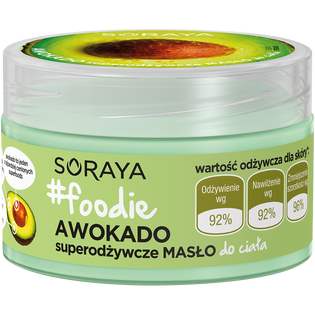 Soraya_#foodie Awokado_super odżywcze masło do ciała, 200 ml