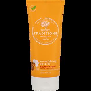 Treets Traditions_zestaw: olejek, 30 ml, żel pod prysznic, 200 ml, pianka pod prysznic, 200 ml_3