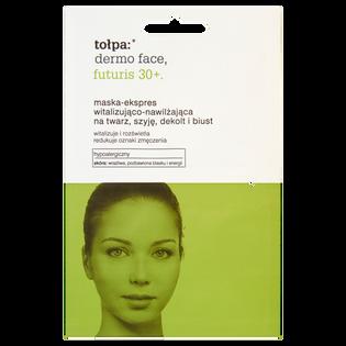 Tołpa_Dermo Face Futuris 30+_maska-expres na twarz, szyję i dekolt, 2x6 ml/1opak.