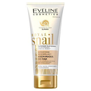 Eveline Cosmetics_Royal Snail_intensywnie regenerujący krem-maska do rąk, 100 ml