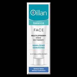 Oillan_Balance_multilipidowy krem do twarzy, 40 ml